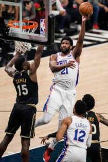 'Always Kicked His Bu**': Joel Embiid Excited for New Partnership With Andre Drummond