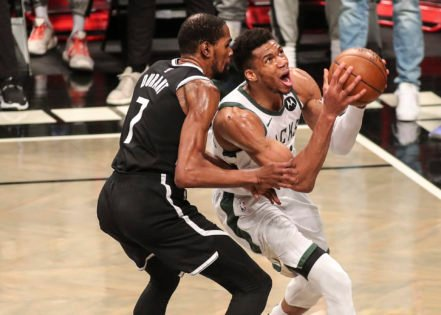 Here's What Brooklyn Nets' Kevin Durant Had to Say to Giannis Antetokounmpo After Milwaukee Bucks Defeated Them in Game 7
