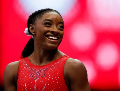 Simone Biles Responds to Fan Asking Her To Participate in 'Crate Challenge'