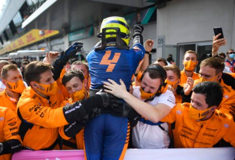 Why Does Lando Norris Race With Number 4 on His F1 Car?