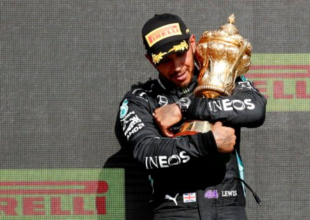 Lewis Hamilton Gives an Emotional Rundown of His Experience of Winning His First F1 Race