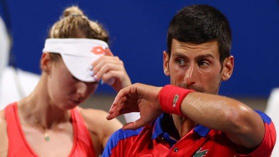 Nina Stojanovic Pens Emotional Note Following 2020 Tokyo Olympics Exit With Novak Djokovic