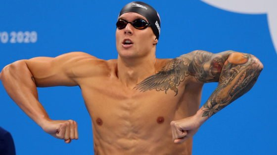 USA's Caeleb Dressel Creates History- New World Record at 49.45 Seconds Created in Swimming at the Tokyo Olympics 2020