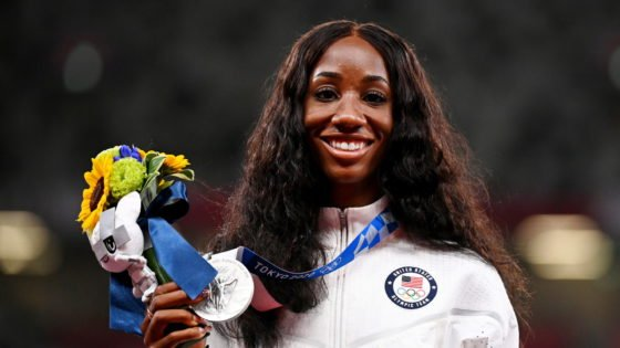 Keni Harrison to Have Hometown Parade in Her Honor After Tokyo Olympics 2020 Success
