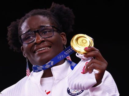 """""""It's So Freaking Incredible"""": Olympic Gold Medalist Tamyra Mensah-Stock Reacts to Her Mother's Food Truck Dream Coming True"""