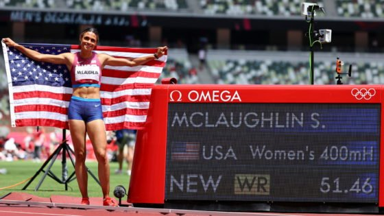 New World Record Set by USA's Sydney McLaughlin at Tokyo Olympics 2020 Finals