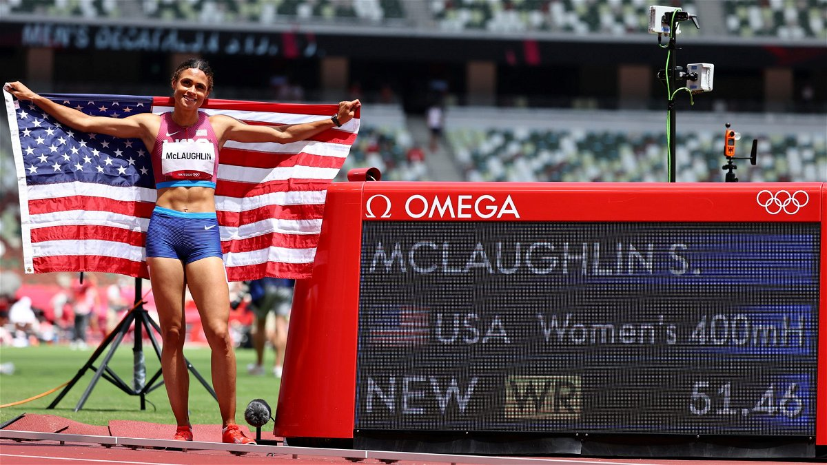 New World Record Set by USA's Sydney McLaughlin at Tokyo Olympics 2020 Finals - EssentiallySports