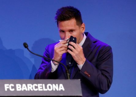 NASCAR 'Offers' Lionel Messi a Race Seat After his FC Barcelona Departure