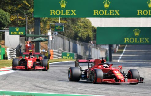 Hamilton Continues to Overpower Verstappen as Sainz Crashes Out of FP2 at Monza