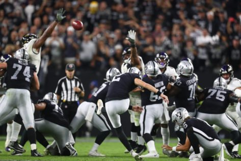Las Vegas Raiders Defensive Tackle Suspended for NFL Doping Violation