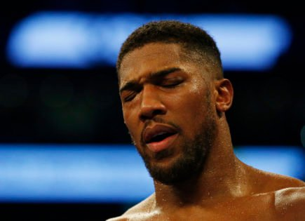 Injury Report: Did Anthony Joshua Hurt His Eye During His Fight With Oleksandr Usyk?