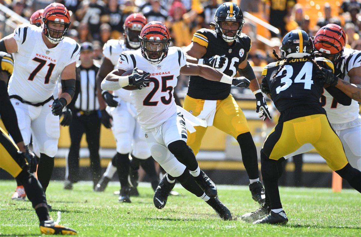 Las Vegas Raiders against Pittsburgh Steelers