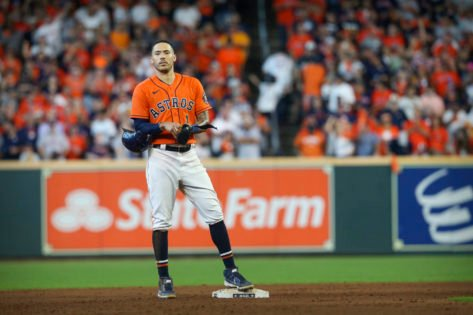 WATCH: Boston Red Sox Fans Mock Houston Astros' Carlos Correa With His Own Gesture in ALCS Game 3