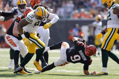 NFL Week 5 Injury Updates: New York Giants Suffer Major Losses, Joe Burrow Takes Nasty Hit