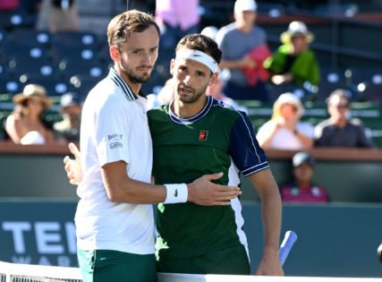 Daniil Medvedev Blames Slower Courts for His Loss at Indian Wells Masters 2021 Against Grigor Dimitrov