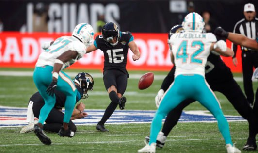 'Bend It Like Beckham' – Placekicker Matt Wright Stars As Jacksonville Jaguars Beat Miami To End Losing Streak