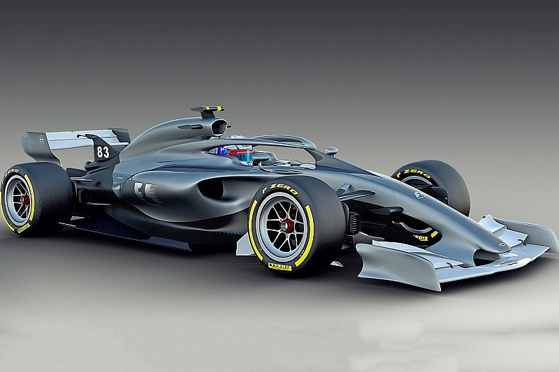Formula One 2021 Concept Promises Reduced Dirty Air ...