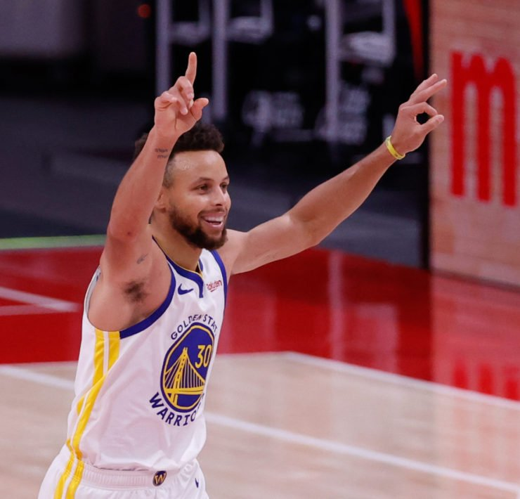 Golden State Warriors star Stephen Curry