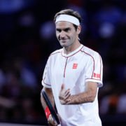 Roger Federer at the Shanghai Masters