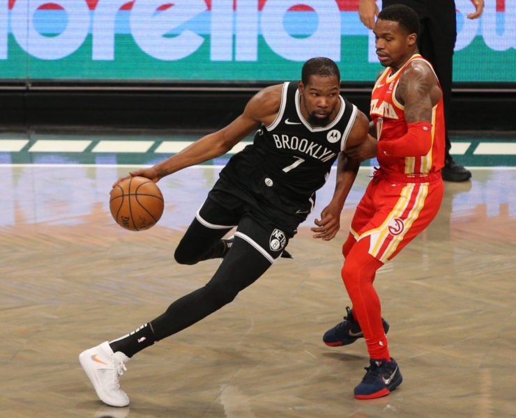 Brooklyn Nets small forward Kevin Durant