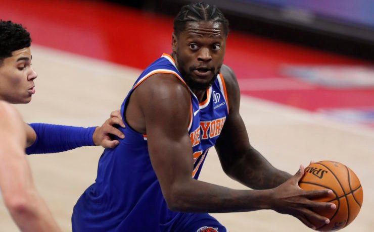 New York Knicks' Julius Randle