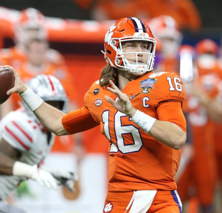 Trevor Lawrence could be a Jacksonville Jaguars player soon