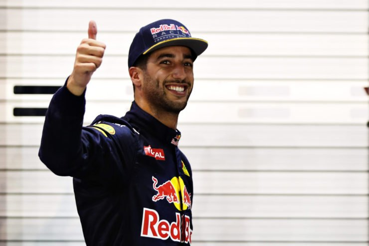 Daniel Ricciardo during the Singapore GP