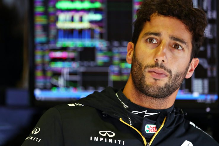 Daniel Ricciardo prior to the Italian GP