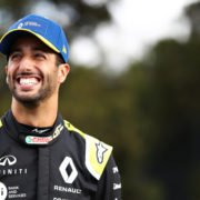 Daniel Ricciardo ahead of the Australian Gran Prix