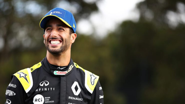 McLaren driver Daniel Ricciardo ahead of the Australian Grand Prix