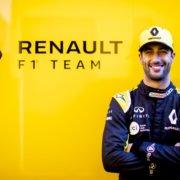 Daniel Ricciardo在巴塞罗那F1冬季测试