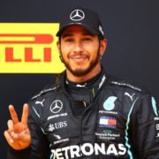 刘易斯汉密尔顿2020年F1斯瑞利安大奖赛之后