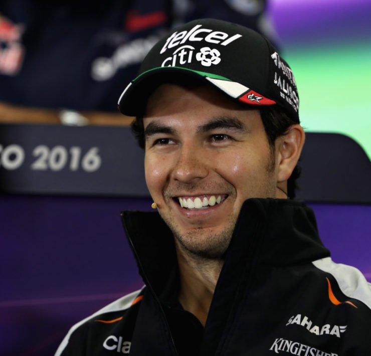 Red Bull driver Sergio Perez