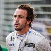 F1 driver Fernando Alonso prior to the Australian GP race