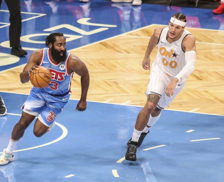 Brooklyn Nets superstar James Harden