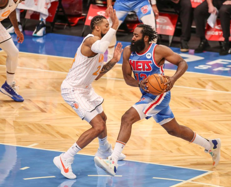 Brooklyn Nets' James Harden