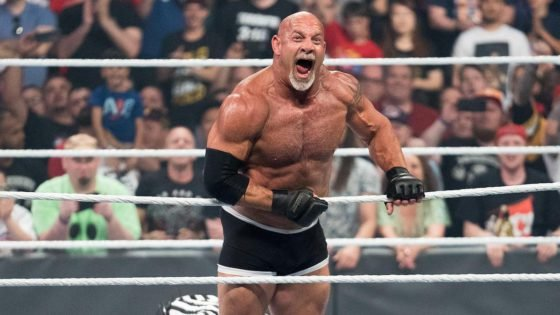 WATCH: Goldberg Gets Back to NFL Training After Making WWE Return on Raw