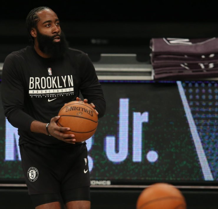 Brooklyn Nets' James Harden is making history in just 2 games for the Brooklyn Nets