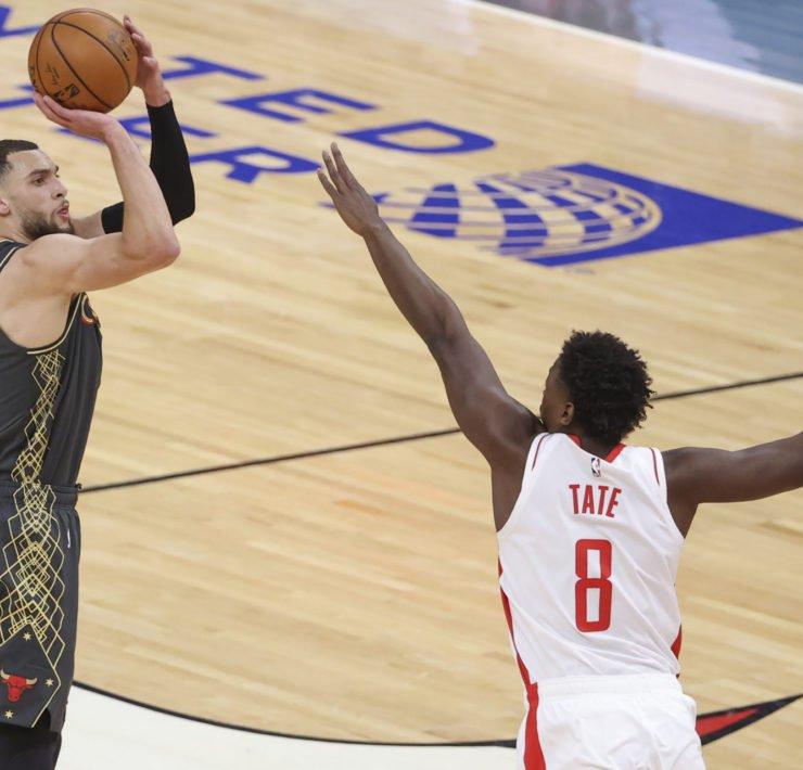 Chicago Bulls' Zach Lavine