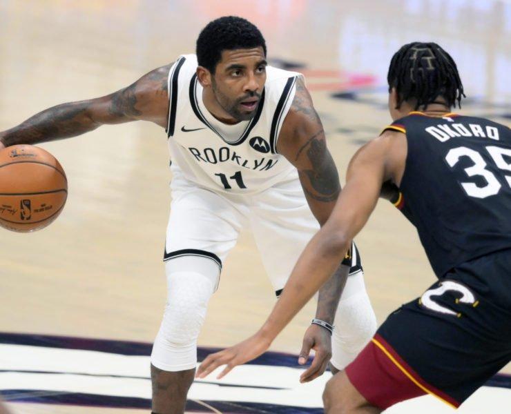 Brooklyn Nets' Kyrie Irving