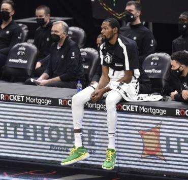 Brooklyn Nets' Kevin Durant