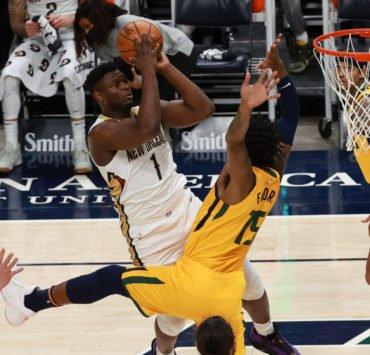 New Orleans Pelicans' Zion Williamson