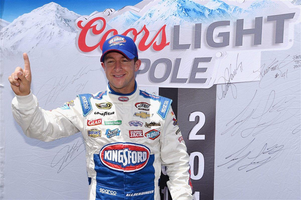NASCAR driver AJ Allmendinger