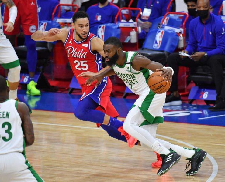 Celtics' Jaylen Brown vs Sixers
