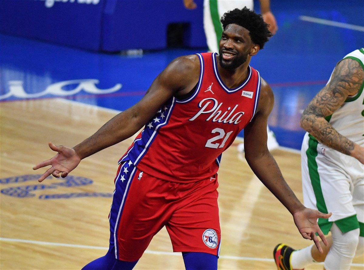 Philadelphia 76ers' Joel Embiid