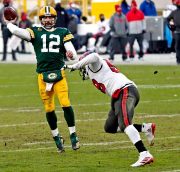 Aaron Rodgers said his future is unceratin following loss to Buccaneers.