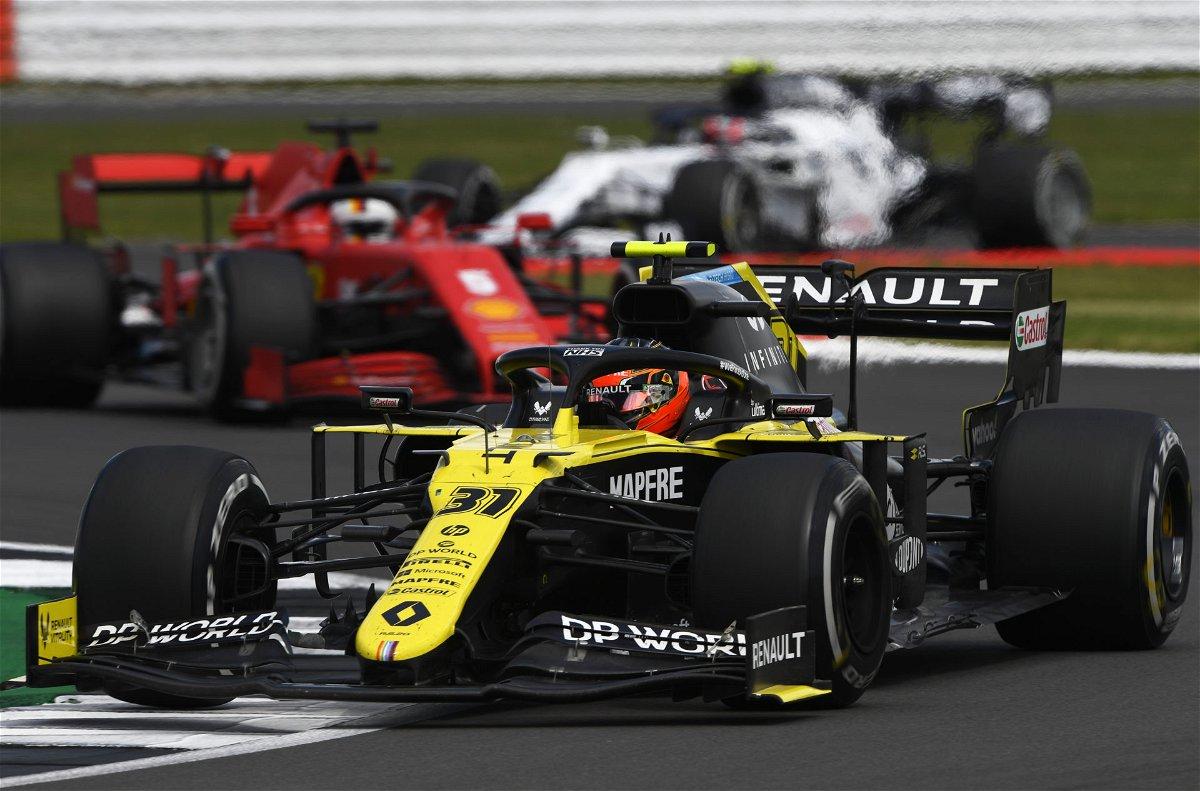 Renault F1 and Ferrari lead the way at British GP