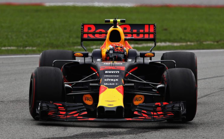 Red Bull driver Max Verstappen during the Malaysian GP