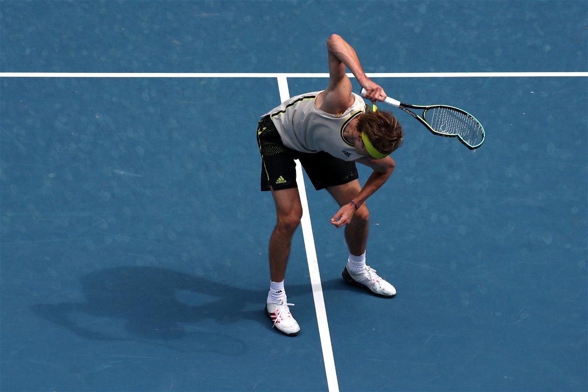Zverev Australian Open 2021