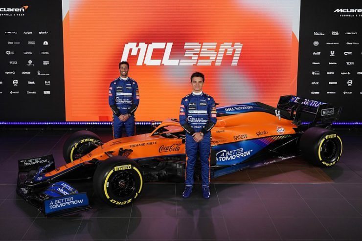 McLaren launching the MCL35M ahead of the 2021 season